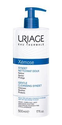 Uriage Xémose Syndet Detergente Delicato Pelle Secca 500 ml