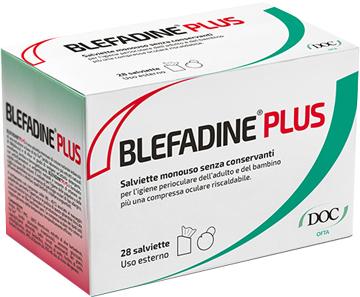 BLEFADINE 28 SALVIETTE PER DETERSIONE PERIOCULARE + 1 COMPRESSA RISCALDABILE - Farmacia 33