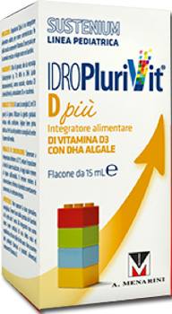 IDROPLURIVIT D+ SUSTENIUM 15 ML - Farmafamily.it