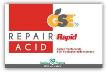 GSE REPAIR RAPID ACID 36 COMPRESSE - Farmastar.it