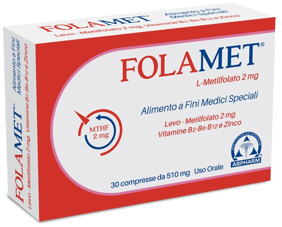 FOLAMET 30 COMPRESSE 500 MG - Farmaci.me