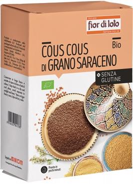 Fior di Loto Cous Cous Grano Saraceno  Bio Senza Glutine