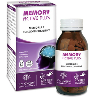 MEMORY ACTIVE PLUS 100 PASTIGLIE - Farmacia Centrale Dr. Monteleone Adriano