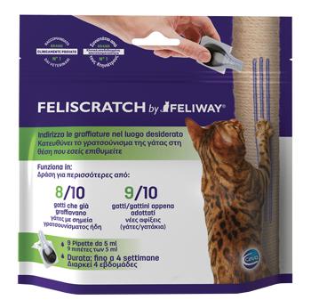 FELISCRATCH BY FELIWAY 9 PIPETTE DA 5 ML - Farmapage.it