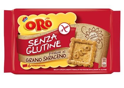 ORO SAIWA SENZA GLUTINE GRANO SARACENO 6 X 40 G - FARMAPRIME