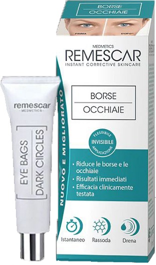 REMESCAR EYE BAGS BORSE OCCHIAIE 8 ML - Nowfarma.it