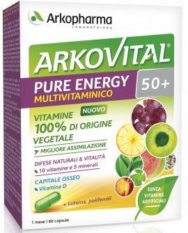 ARKOVITAL PURE ENERGY 50+ 60 CAPSULE - Farmastar.it