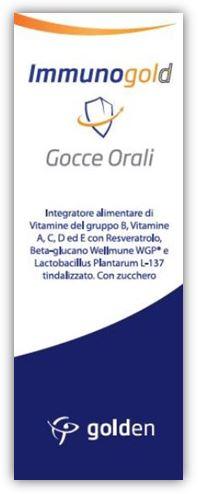 Immunogold Integratore Gocce 30 ml