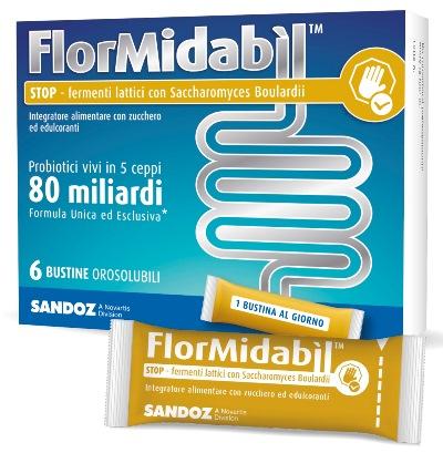 Flormidabil Stop 6 Bustine Orosolubili