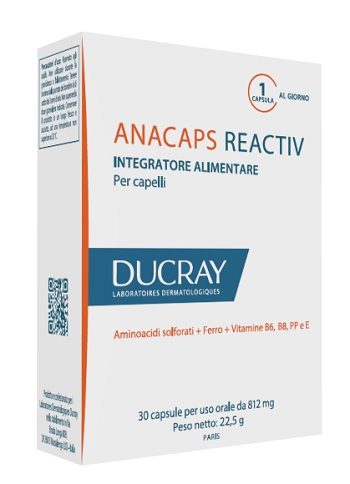 ANACAPS REACTIV DUCRAY 30 CAPSULE 2017 - La farmacia digitale