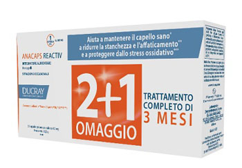 ANACAPS REACTIV TRIO DUCRAY 30 CAPSULE - Farmabenni.it