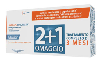 ANACAPS PROGRESSIV TRIO DUCRAY 30 CAPSULE - Farmapc.it