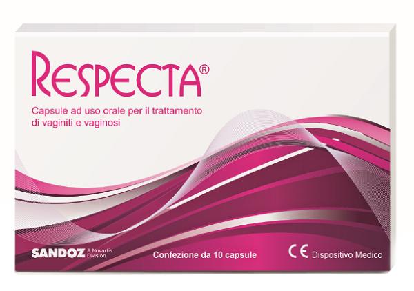 RESPECTA 10 CAPSULE AD USO ORALE PER VAGINITI E VAGINOSI - Farmabellezza.it