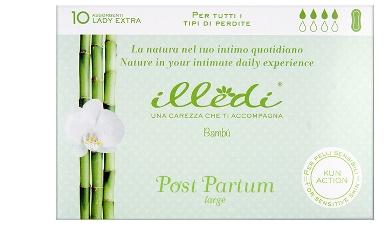 ILLEDI ASSORBENTI LADY EXTRA SENZA ALI POST PARTO PER TUTTI I TIPO DI PERDITE LARGE 10 PEZZI - Farmacia 33
