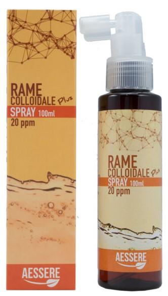 RAME COLLOIDALE PLUS SPRAY 20PPM 100 ML - Farmapage.it