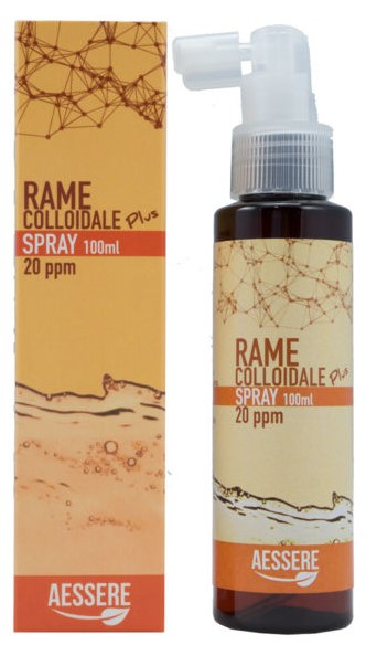 RAME COLLOIDALE PLUS SPRAY 20PPM 100 ML - FARMAEMPORIO