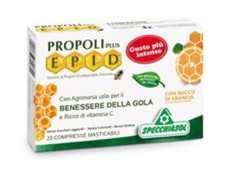 Specchiasol Epid Compresse Arancia Integratore Gola 20 Compresse Masticabili