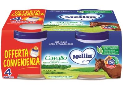 MELLIN OMOGENEIZZATO CAVALLO 4 X 80 G - Farmacia Castel del Monte