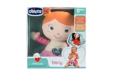 CHICCO GIOCO FIRST LOVE EMILY BAMBOLA - Farmafamily.it
