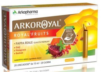 ARKOROYAL ROYALFRUITS 20 FIALE - farmaciafalquigolfoparadiso.it
