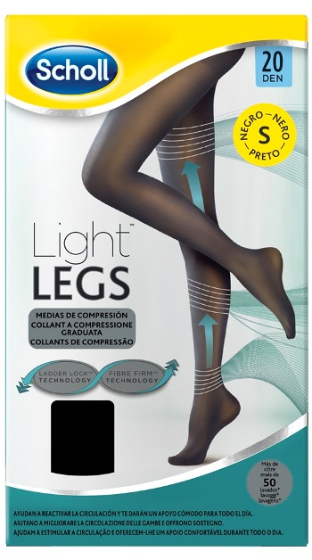 SCHOLL LIGHTLEGS 20 DENARI TAGLIA S COLORE NERO 1 PAIO - Farmafamily.it