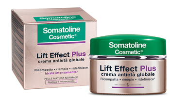 SOMATOLINE COSMETIC LIFT EFFECT PLUS CREMA ANTIETA' GIORNO PELLE MATURA NORMALE 50 ML - La farmacia digitale