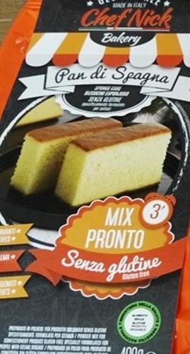 CHEF NICK MIX PREPARATO PER PAN DI SPAGNA 400 G - Farmacia Massaro
