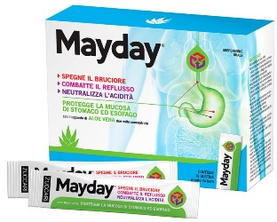 MAYDAY SOSPENSIONE PER USO ORALE ALLA MENTA 18 STICK 10 ML - La farmacia digitale