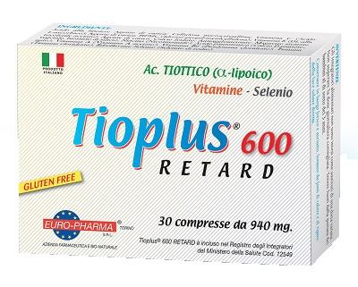 TIOPLUS 600 RETARD 30 COMPRESSE - Farmastar.it