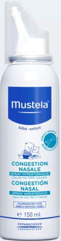 MUSTELA CONGESTIONE NASALE SPRAY IPERTONICO 150 ML - La farmacia digitale