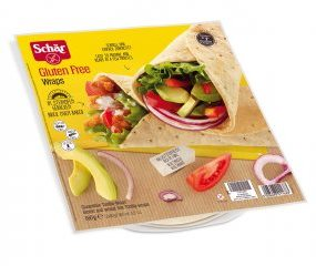 SCHAR WRAPS PIADINA ARROTOLABILE 240 G - Farmafamily.it
