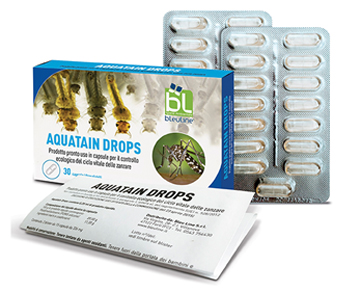 AQUATAIN DROPS 15 CAPSULE X 2 BLISTER - Farmapc.it