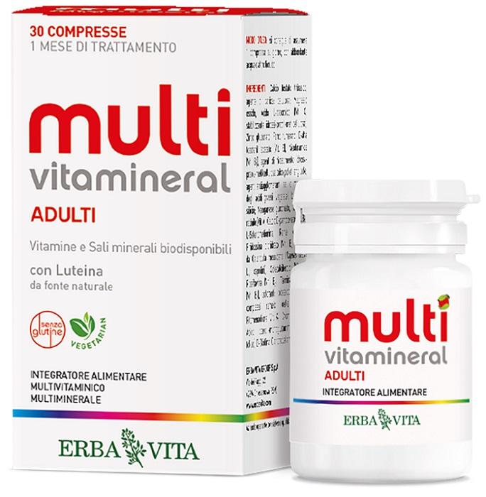 MULTIVITAMINERAL ADULTI 30 COMPRESSE - Farmaseller
