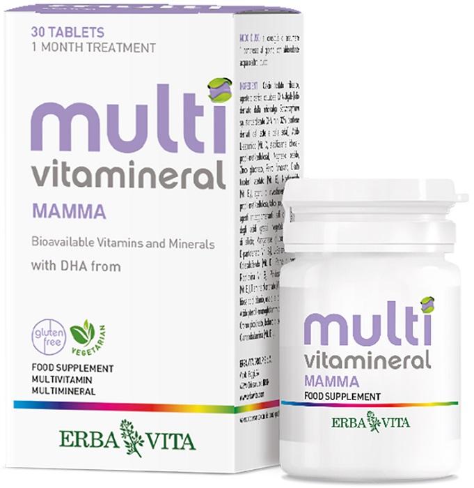 MULTIVITAMINERAL MAMMA 30 COMPRESSE - Farmacia Basso