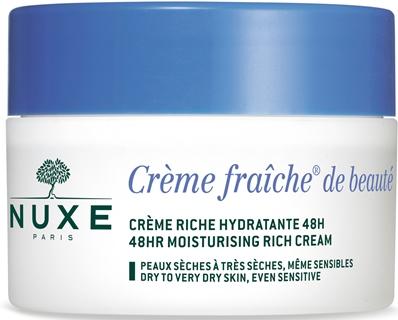 NUXE CREME FRAICHE DE BEAUTE RICHE CREME NOURISSANTE HYDRATANTE 48 H 50 ML - Farmacia Castel del Monte