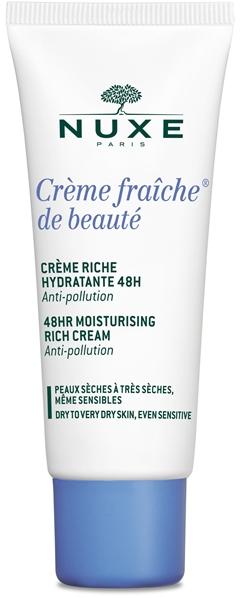 Nuxe Creme Fraiche De Beautè Creme Riche Hydratante Crema Giorno Pelli Secche Viso 30 ml - latuafarmaciaonline.it