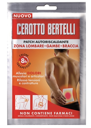 BERTELLI PATCH AUTORISCALDANTE 1 PEZZO - Spacefarma.it
