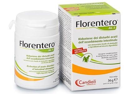 FLORENTERO ACT 120 COMPRESSEAPPETIBILI PER CANI E GATTI - Farmacia Barni