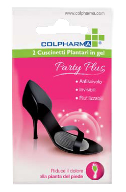 COLPHARMA PARTY PLUS CUSCINETTO PLANTARE IN GEL 2 PEZZI - Farmapage.it