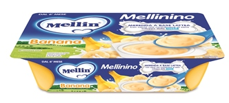 MELLININO MERENDA BANANA 6 X 55 G - Farmafamily.it