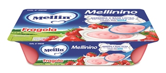 MELLININO MERENDA FRAGOLA 6 X 55 G - Farmacia Castel del Monte