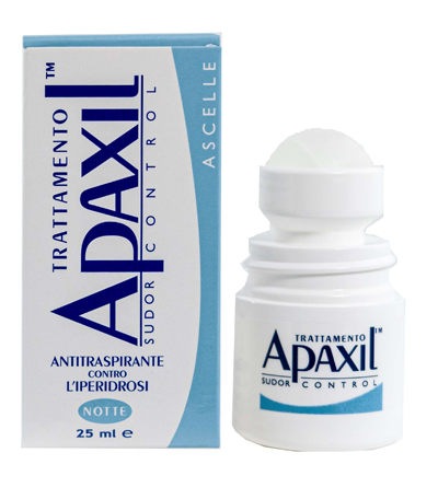Apaxil Sudor Control Trattamento Ascelle 25ml - Sempredisponibile.it