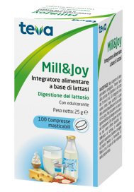 MILL&JOY TEVA 100 COMPRESSE MASTICABILI - Farmabros.it