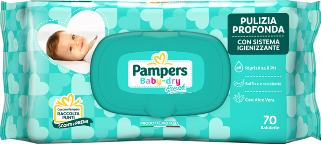 BABY FRESH FORMULA ESCLUS 70 PEZZI - Farmaci.me