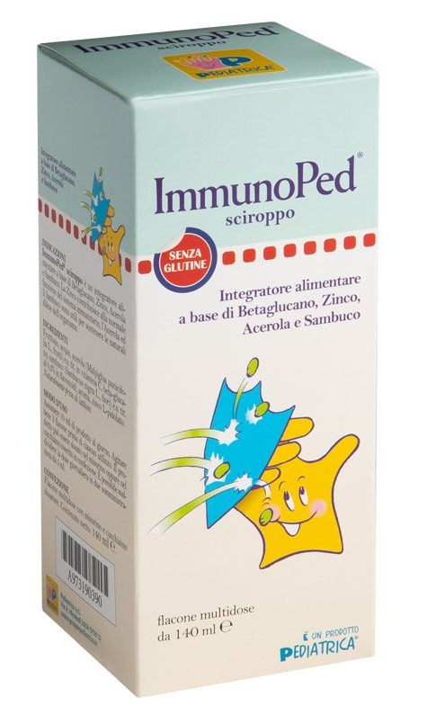 IMMUNOPED SCIROPPO 140 ML - Farmalandia