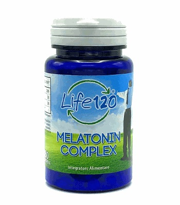 LIFE 120 MELATONINA COMPLEX 180 COMPRESSE - Farmafamily.it
