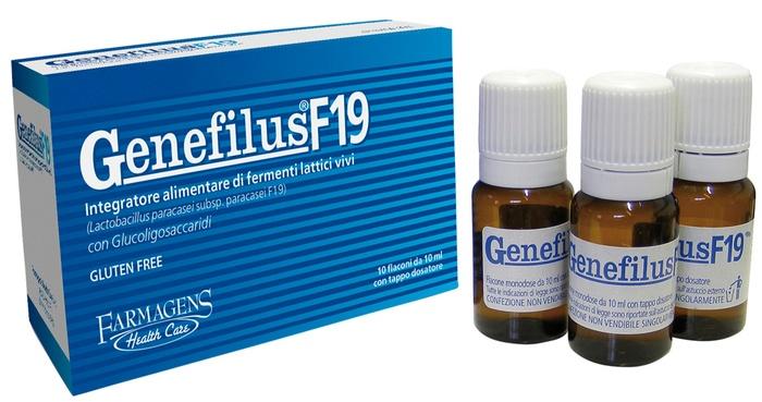 GENEFILUS F19 10 FLACONI DA 10 ML - Farmacia 33