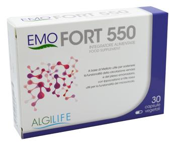 EMOFORT 550 30 CAPSULE - Parafarmacia la Fattoria della Salute S.n.c. di Delfini Dott.ssa Giulia e Marra Dott.ssa Michela