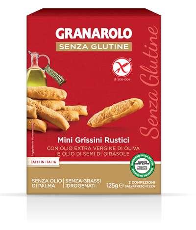 GRANAROLO MINI GRISSINO RUSTICO SENZA GLUTINE 125 G - FARMAPRIME