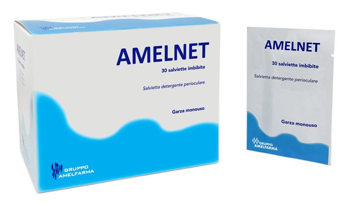 GARZE AMELNET MONOUSO 30 SALVIETTE - Farmaseller